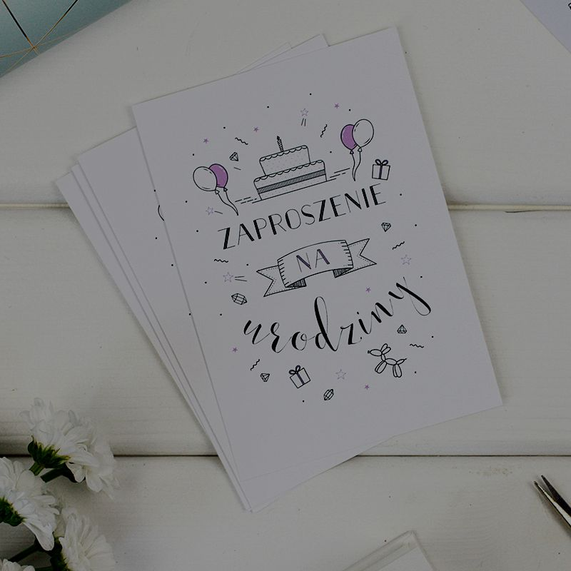 Kartki i zaproszenia okolicznościowe